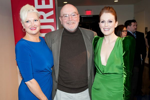"""""""Game Change"""" Premiere Is a Family Affair For Julianne Moore (Pictures)"""