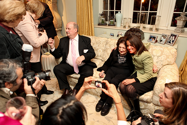 A Night Out: Helen Thomas's Book Party