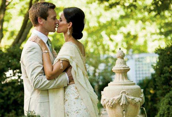 Real Weddings: Anita Mitra & Daniel Crabtree
