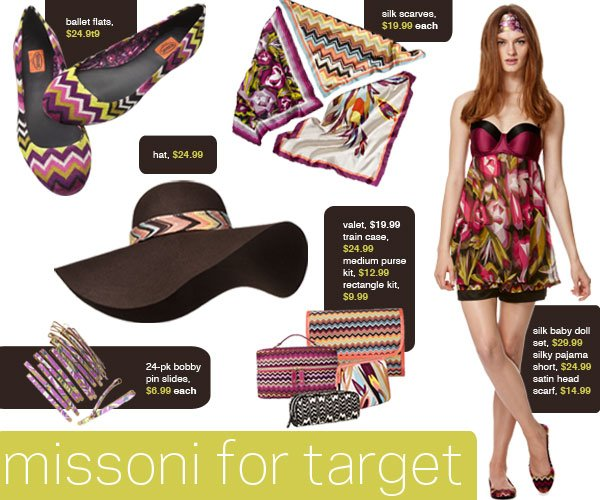 Shop Missoni for Target Starting Today