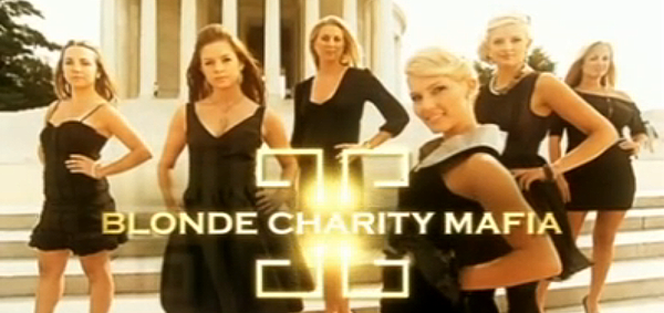 'Blonde Charity Mafia' Welcomes Us to the Inside