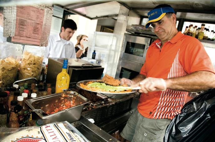 We'll Miss You, Burrito Vendor John Rider