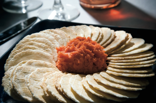 Things We Love: Port-Wine Cheese with Australian Water Wheel Crackers