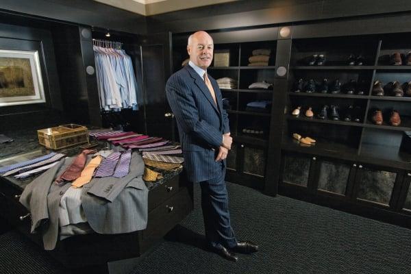 Favorite Spaces: A Closet That Suits Him