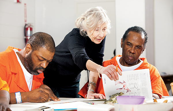 Teaching Behind Bars