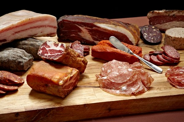 Red Apron chef Nate Anda is putting together charcuterie boards for Neighborhood Provisions. Photograph by Greg Powers.