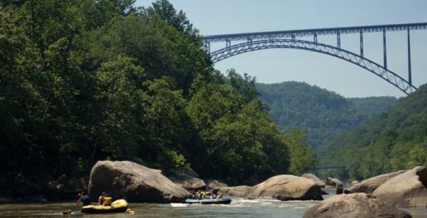 New River Rafting in West Virginia