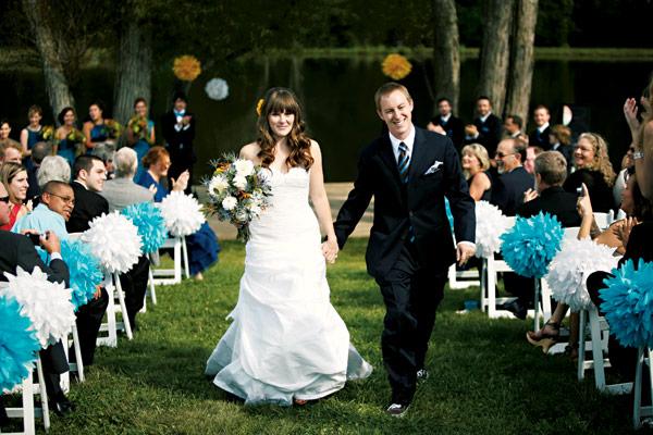 Real Weddings: Jessica Grzymkowski & Peter Harrell