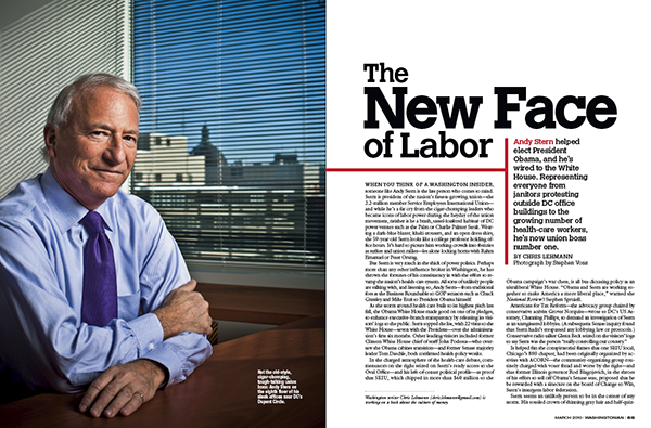 Andy Stern: The New Face of Labor
