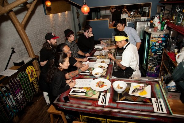 What's It Like to Eat at a Toki Underground Pop-Up Dinner?