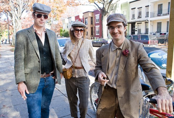 In Photos: The Tweed Ride