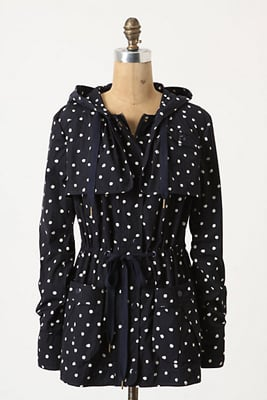 How fun is this polka-dot raincoat?