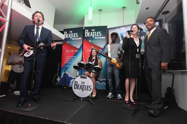 Rewind: The Beatles: Rock Band Video Game Debuts in Washington