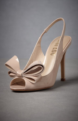 Betty's go-to party shoe.