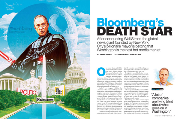 Is Bloomberg Government the Next Washington Media Death Star?