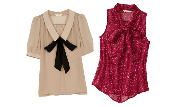 Wear to Work: 10 Bow-Tie Blouses Under
