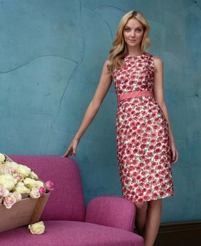 Wear it with a beehive for the Sunday premiere, then style over a white button-down for work on Monday.