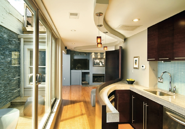 Dream Kitchens: Sleek Design in a Small Space