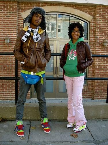 Sidewalk Style: Stylish Teens