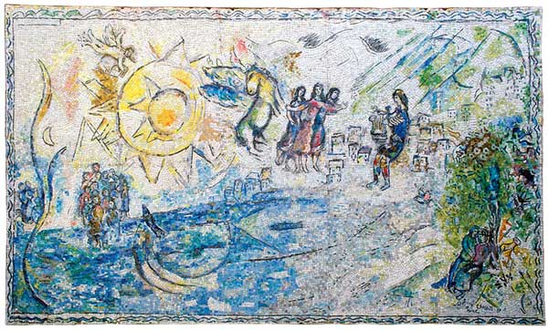 The Chagall in the Garden