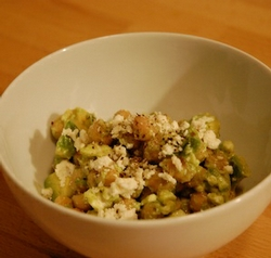 Sophie at the Stove: Chickpea and Avocado Salad