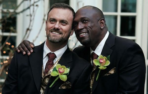 Real Weddings: Carl Cox & Darin Henderson