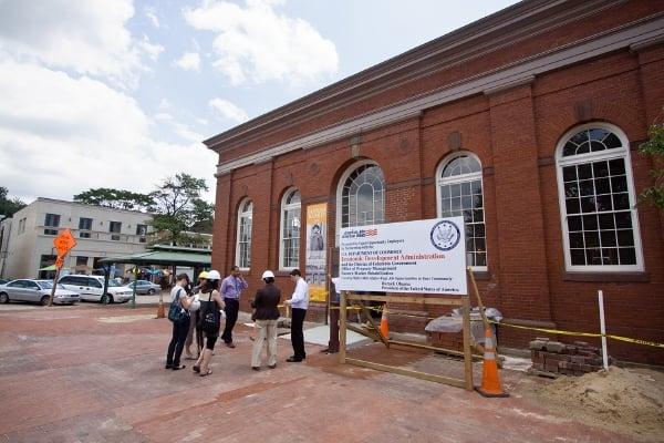 Eastern Market Renovation: A Peek Behind the Yellow Tape