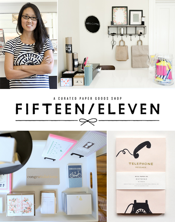 Welcome to Fifteen/Eleven, Our Favorite New Paper Goods Store (Pictures)