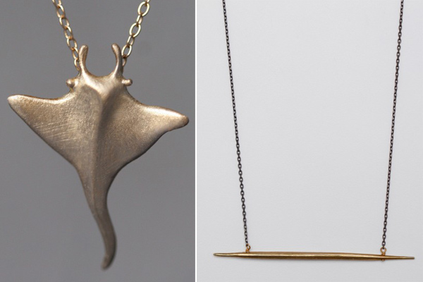 Update Your Jewelry Box with An Edgy Gold Charm