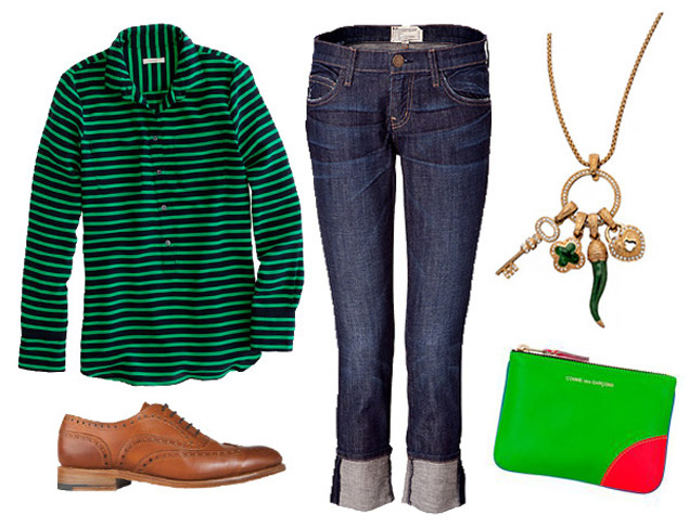 Sporty/Sweet: Two Non-Obvious Looks for Celebrating St. Patrick's Day