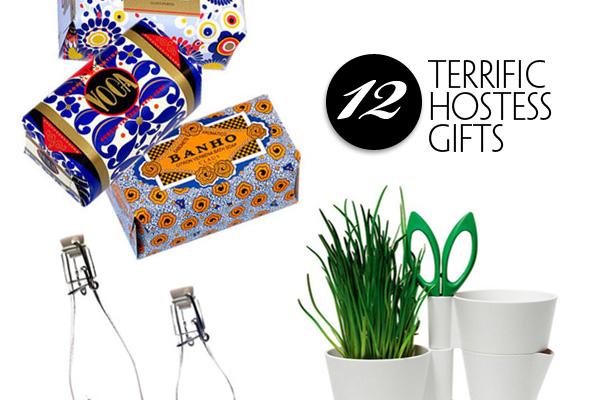 Twelve Terrific Hostess Gifts