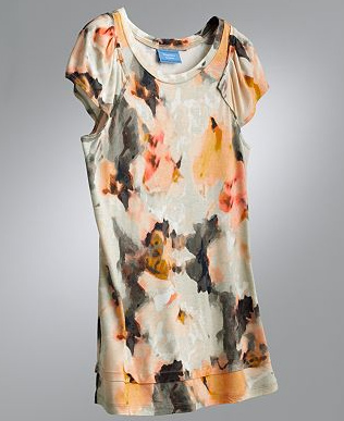 Vera Wang's diffusion line for Kohl's is our go-to source for the trend. This top is our fave of the current collection.