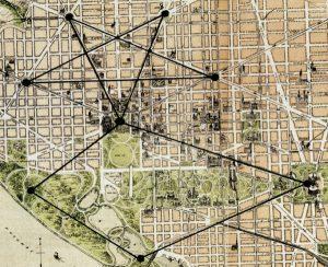 The Lost Symbol: Dan Brown's Pentagram City