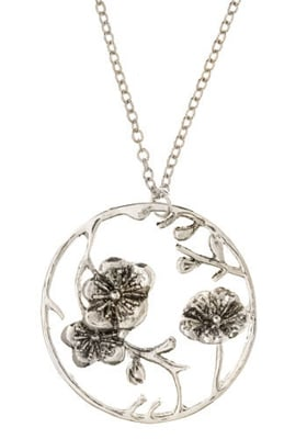 The original cherry blossom trees were a token of friendship from Tokyo to Washington. Show your bestie a similar sentiment with this cute pendant.