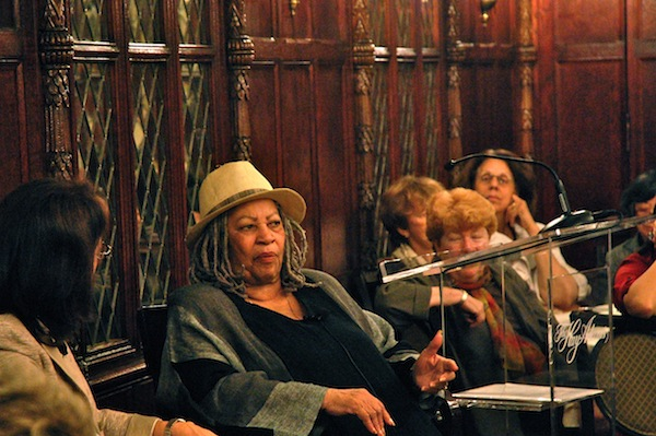 Toni Morrison Receives Award, Talks About Her Next Novel