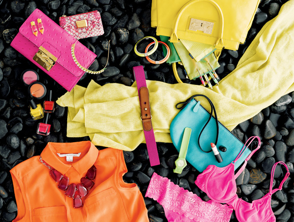 Liven Up Your Winter Wardrobe With a Pop of Neon