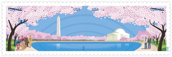 New Cherry-Blossom Stamp