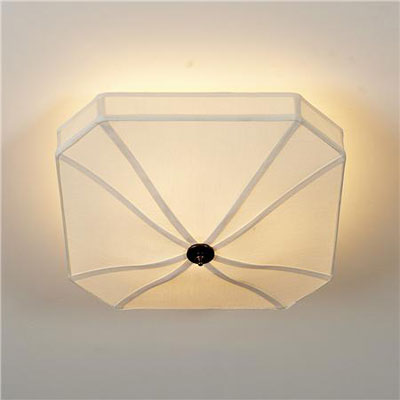 Umbrella silk ceiling light