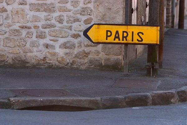 A Washingtonian Wedding: Paris, Je t'aime