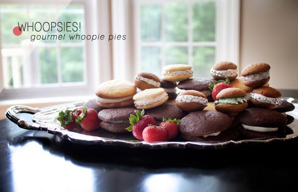 Wedding Dessert of the Moment: Whoopsies! Gourmet Whoopie Pies