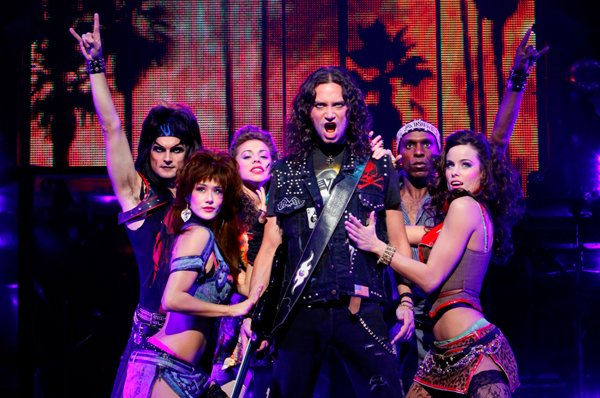 "Theater Review: ""Rock of Ages"" at the National Theatre"