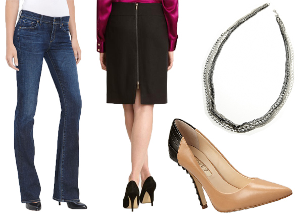 How to Dress Ten Pounds Slimmer