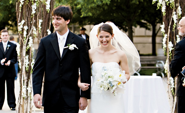 Real Weddings: Sloane Kuney & David Rosenthal