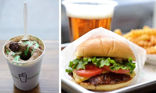 Shake Shack Opens in DC Tuesday (Pictures)