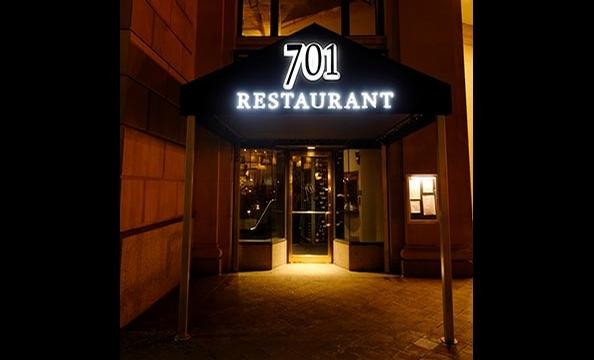 "Unveiled ""Rehearsal Dinner"" at 701 Restaurant"