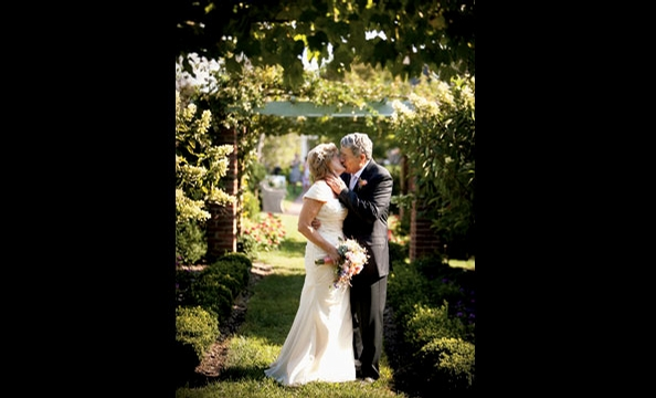 Real Weddings: Linde Zier and Franklin Ward