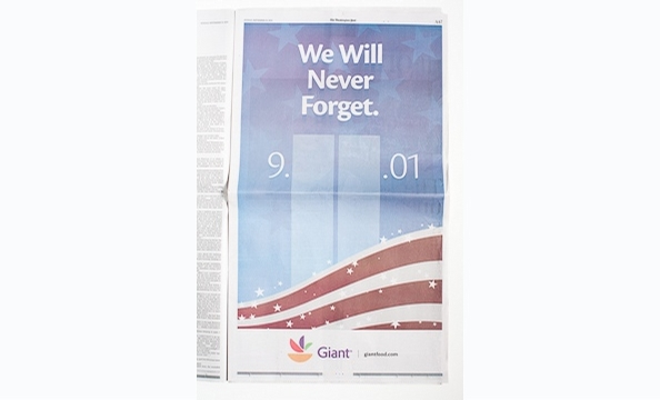 9/11-Themed Ads From Major National Newspapers