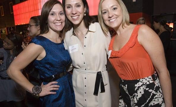 Jamie Sears of Simply Chic Events, Washingtonian Bride & Groom Editor Jill Hudson Neal and Pam Barefoot of Atrendy Wedding