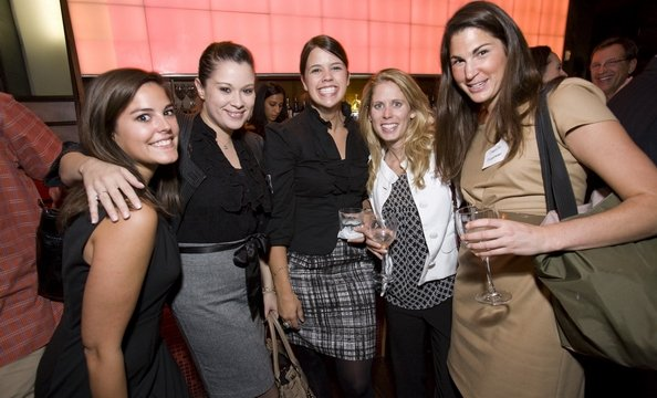 Haydee Gamez of the St. Regis, Danielle Couick of Jodi Moraru, Hillary Francis of Special Events at Union Station and guests