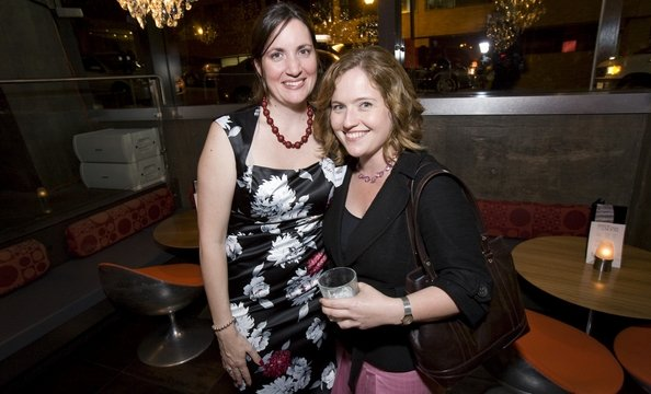Haynal Papp of Dolce Video and Andrea Jacobson of Observatory Photo